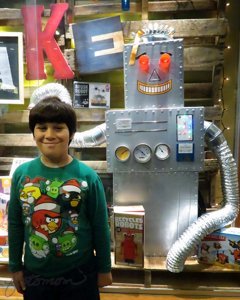 12/21/14 - Johnny and Robot NCMLS